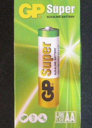 Батарейки GP AA Super Alkaline (палец) (упаковка 40 штук)