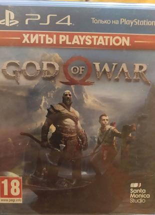 Игра God of War 4 на PS4