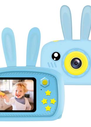 Детский фотоаппарат Photo Camera Rabbit с автофокусом (два цвета)