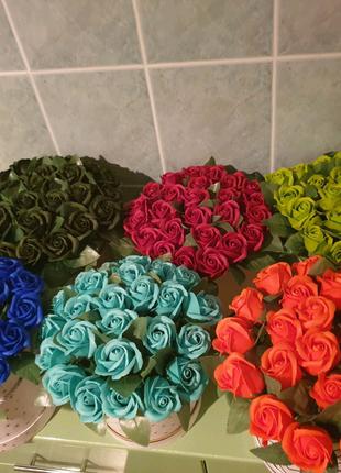 Букети з мильних роз (25)