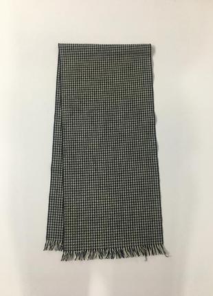 Винтажный шерстяной шарф harrison's lambswool