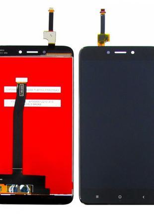 Дисплей + Сенсор (модуль) экран Xiaomi Redmi 4x черный
