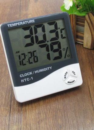 Термометр гигрометр влагомер нтс вологомір гігрометр цифровий