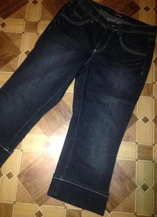 Бриджи женские джинсовые.124