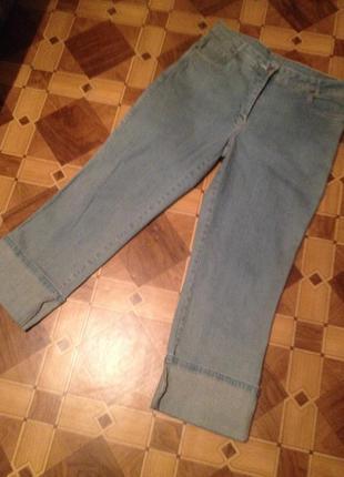 Бриджи женские джинсовые.095