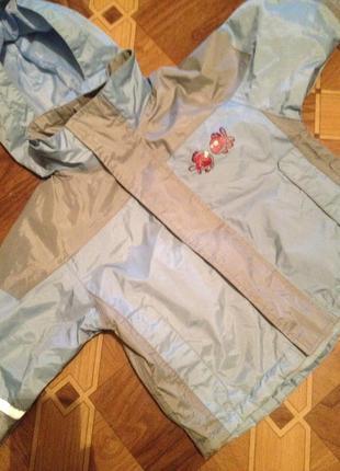 Курточка на флисе 1-2 года