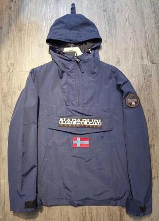 Анорак вітровка куртка napapijri blue