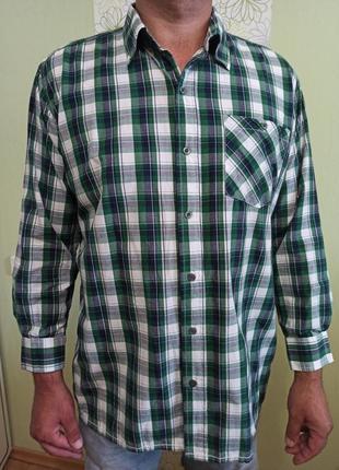 Рубашка мужская большого размера с длинным рукавом. расцветка ...