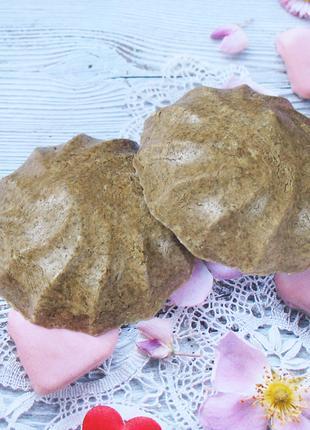 Натуральный твердый травяной шампунь для укрепления и роста волос