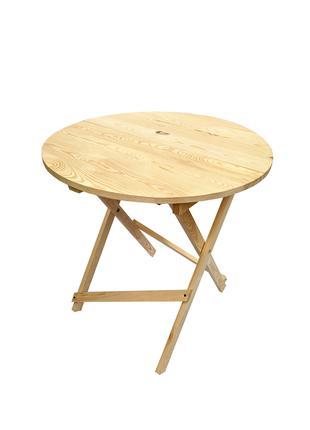 Деревянный складной стол (Сосна)