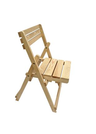 Деревянный складной стул (Сосна)
