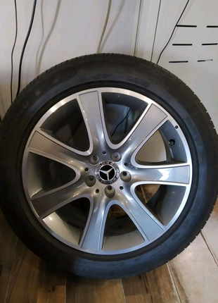 Комплект колёс Mersedes S-450 купе - 2019 года выпуска, R 18.