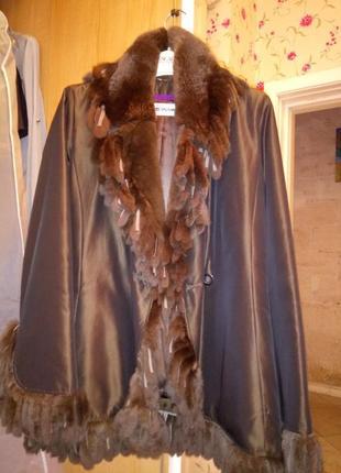 Куртка из франции оригинал. yves solomon.