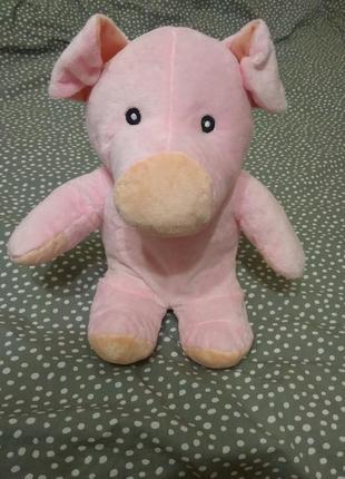Мягкая игрушка поросенок свинья свинка