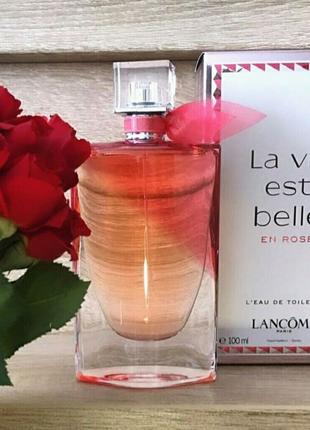 Женская туалетная вода Lancome La Vie Est Belle En Rose