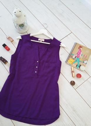 Элегантная блуза в лавандовом цвете..#00359
