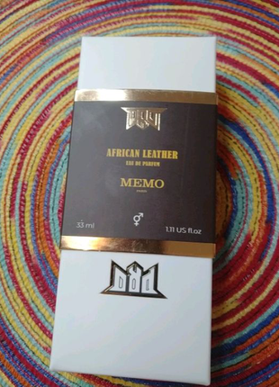 Memo African Leather,парфюм (33мл)