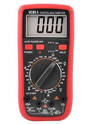 Мультиметр цифровой  VC61A