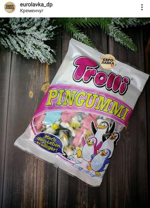 Желейные конфеты ТМ Trolli Pingummi пингвины желе мармелад