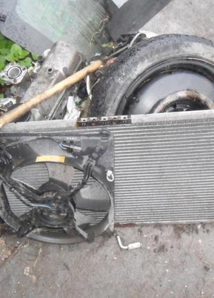 Daewoo Nubira 97-03 радиатор вентилятор
