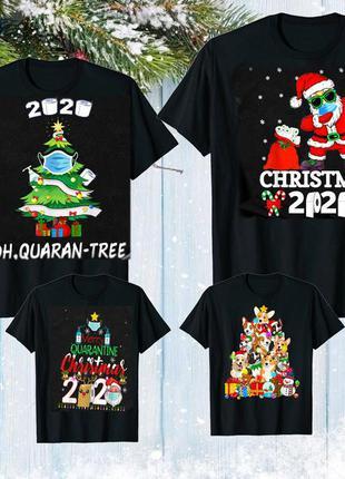 """Набор: футболки фэмили лук family look для всей семьи """"новый г..."""