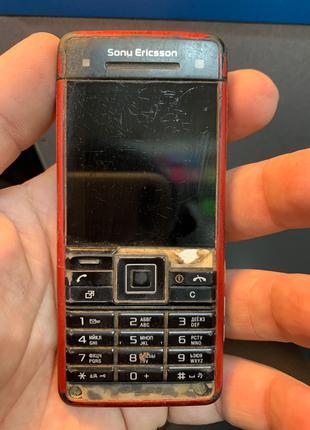 Мобильный телефон Sony Ericsson c902 под ремонт или на запчасти