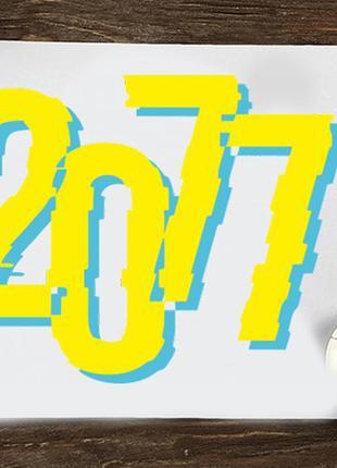"""Коврик для мыши с принтом """"cyberpunk (2077)"""""""