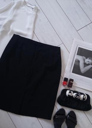 Базовая классика юбка миди карандаш для деловой девушки..# 254