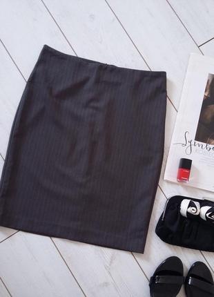 Made in italy юбка карандаш миди для деловой девушки..# 45