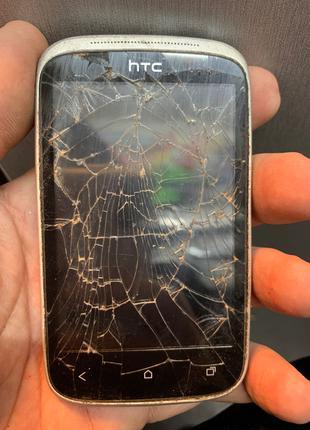 Мобильный телефон Htc Desire C под ремонт или на запчасти