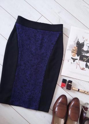Изумительная юбка миди карандаш из плотного трикотажа..# 148
