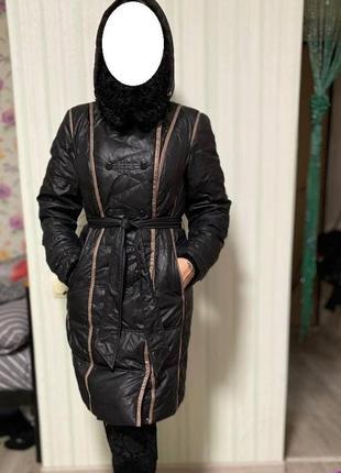 Пуховик clasna , пальто, курточка, зимнее пальто, пуховик