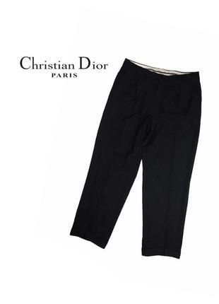 Шерстяные брюки christian dior boutique monsieur - 36/30