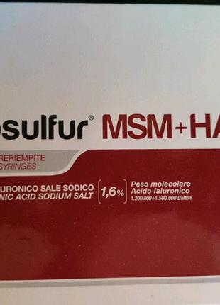 артросульфур msm+ha