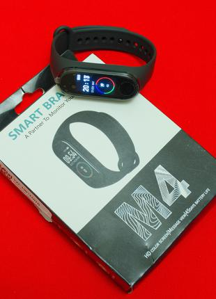 Фитнес Браслет Пульсометр Smart Watch M4 Аналог Xiaomi Mi Band 4