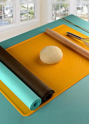 Коврик силиконовый с разметкой толщина 3мм