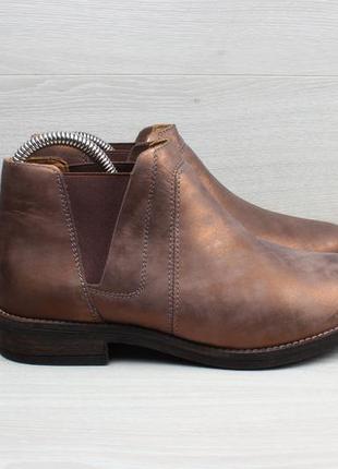 Женские кожаные ботинки / полуботинки clarks, размер 38