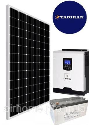 Комплект Автономной солнечной электростанции 5 кВт