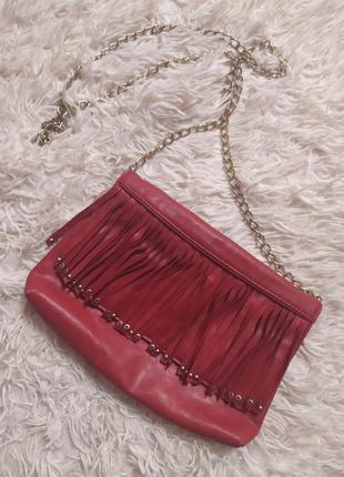 Маленька сумочка з бахромою
