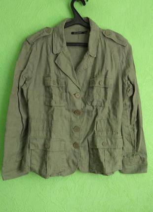 Куртка лёгкая, пиджак, жакет  серого цвета atmosphere, р. 40/l...
