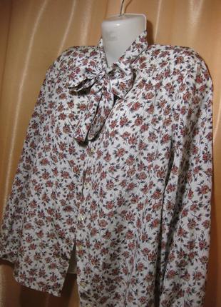 Классическая строгая блузка в офис, деловой стиль, eastex, 16u...