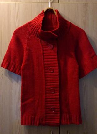 Кофта вязаная, джемпер, свитер на пуговицах, кардиган, р. xs, s.