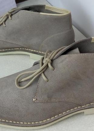 Мужские ботинки дезерты kebo италия