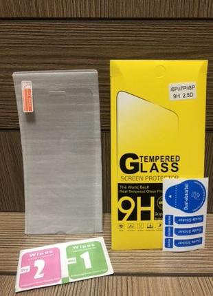 Защитное стекло 2,5D 5d на для iphone айфон 5 6/6+ Plus 7/7+ 8...