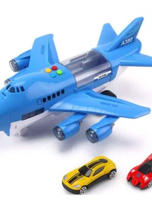 Детская игрушка грузовой самолет 40х30см