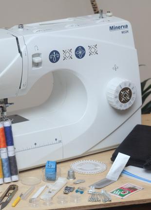 Швейная машина Minerva M32K Германия - Гарантия 6 мес