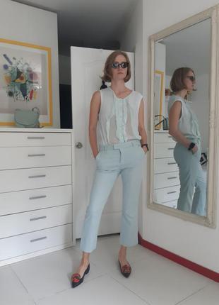 Ментоловый комплект. брюки escada sport