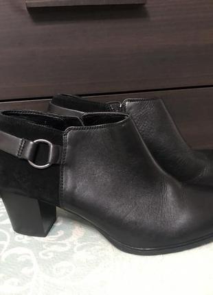 Кожаные ботильоны ботинки footglove!
