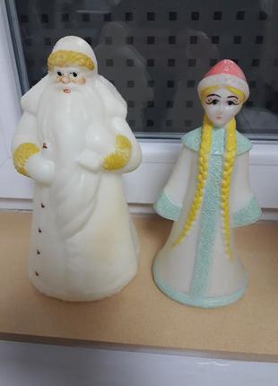 Дед Мороз и Снегурочка ссср.