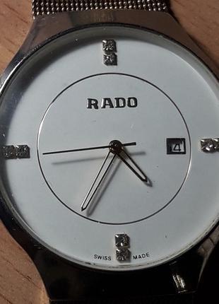 Часы наручные Rado кварц нерабочие.